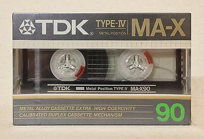 TDK MA-X 90 METAL CASSETTE TAPE, BRAND NEW, UNOPENED lot2