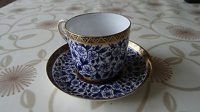 Royal Derby Cup and Saucer Lily Pattern