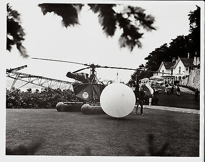 The Prisoner 8 x 10 Inch Photo Patrick McGoohan with Rover + Helicopter Cheapest