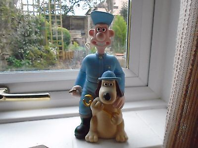 Wallace And Gromit Figure. In Good Condition.