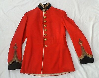 A Staffordshire Regiment Officers scarlet tunic C. 1902