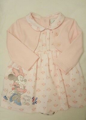 M&co Minnie Mouse baby girls dress - 0-3 months