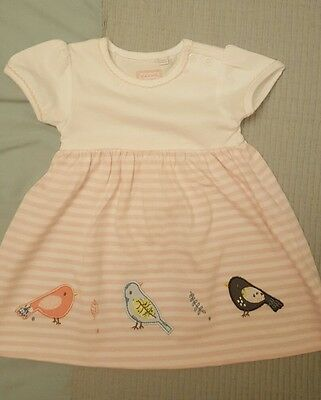 BN Bluezoo/Debenhams Baby girl dress 0-3 months.