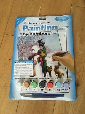 Paint By Numbers Winter Wonderland