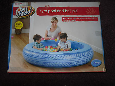 Tyre Pool And Ball Pit (NEW)