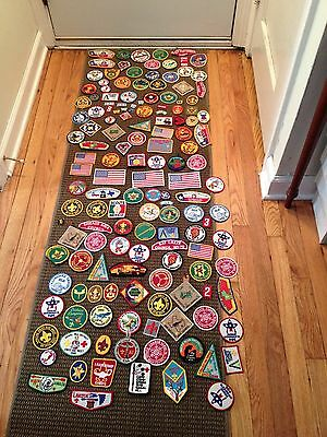 150 Vintage Bsa Boy Scout Patches Awards Lot Of
