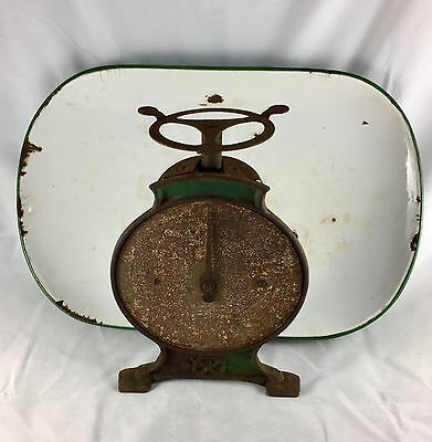 Vintage Salter Household Scale No. 46 Cast Iron