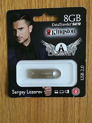 """New Eurovision 2016 Russia Entry Sergey Lazarov """"you Are The Only One"""" Usb"""