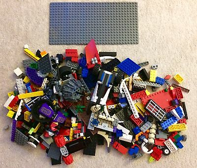large bundle Of Loose Lego And More! Large Base Plate/Mini figures/Accessories!