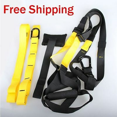 Yoga Training Gym Straps Suspension Crossfit Trainer Fitness Bodyweight Workout