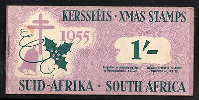 South Africa 1955 Christmas Anti - TB Seals 1/-  booklet complete mint