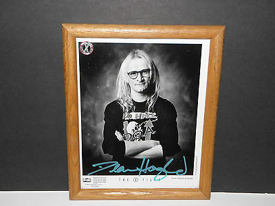 X Files Autographed Langly (Dean Haglund) FOX Promo 8x10 Photo