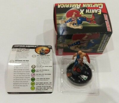 Heroclix 2017 Convention Exclusive MP17-004 Earth X Captain America New Card&Box