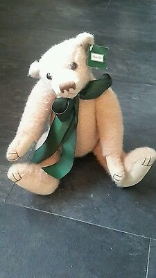 VINTAGE STYLE JOINTED TEDDY BEAR Pam Howells, 'Harold',with tag Free Uk Post