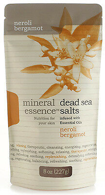 Mineral Essence    Dead Sea Bath Salt - Luxury Neroli Bergamot (227g sachet)