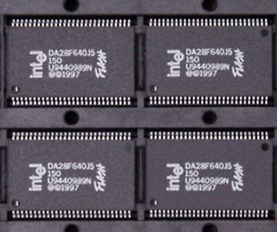 Intel Flash DA28F640J5-150 (2 PCS)