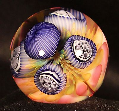 Boro Glass Marble (Marbles) Route 66 Glass Works - Richard Hollingshead Ii