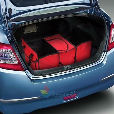 Trunk Organizer Collapsible Folding Car Truck Auto Storage Bin Bag Large Size