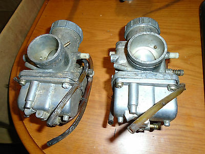 Matched Pair Mikuni VM36 36MM Carburetors 36A-72 Polaris Skidoo Choke Primer