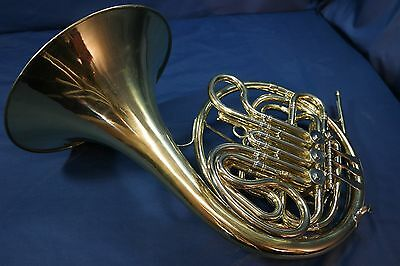 1965 King 1159 Kruspe Wrap Double French Horn in F/Bb w/Case, Mouthpiece