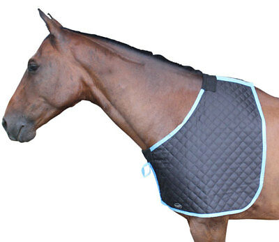 CARIBU Quilted Horse Bib Shoulder Guard. Ideal for use under Winter Rugs