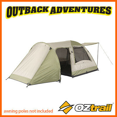 Oztrail Tasman 4V Plus Dome Tent Family Camping Couple Hiking Camp 4 Person