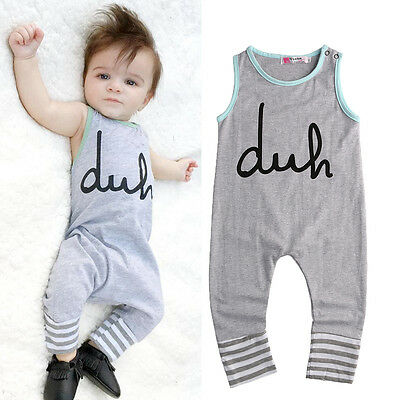 Cotton Newborn Baby Girl Boy Bodysuit Romper Jumpsuit Outfits One-pieces Clothes