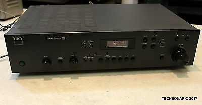 NAD Stereo Receiver 710 Stereo AM/FM Tuner Amplifier