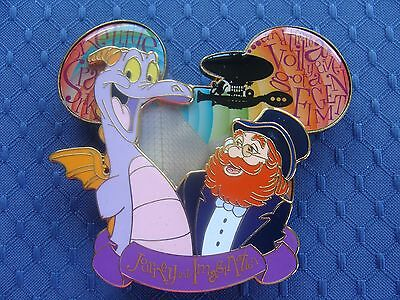 RARE! Disney Journey into Imagination Figment and Dreamfinder Jumbo Pin LE1000