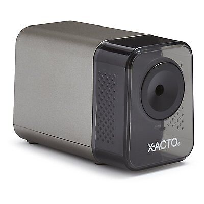 Black Electric Pencil Sharpener x-acto Desktop 1800 Heavy Duty Office Supply
