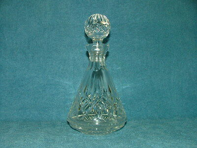 Stunning Vintage Genuine Waterford Crystal Decanter