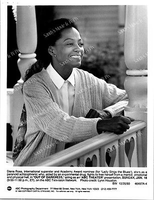 DIANA ROSS Terrific ORIGINAL TV Photo OUT OF DARKNESS