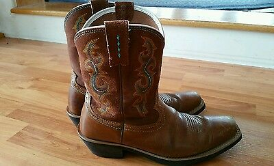 Ariat fatbaby western square toe cowboy cowgirl boot womens 8.5 B