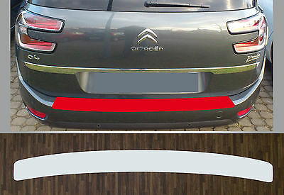 paint protective film boot sill transparent for Citroën C4 Picasso, from 2016