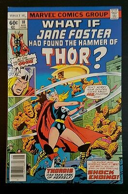 WHAT IF #10 (1978 MARVEL) *1st JANE FOSTER AS THOR* VF+