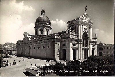 Italy Postcard 1910 Basilica Mary Of The Angels - Saint Francis Of Assisi