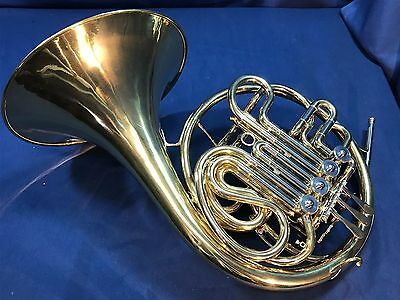 Blessing (Conn 6D Copy) Made in USA Double French Horn w/Case and Mouthpiece