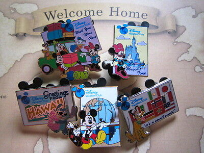 Disney Vacation Club pins pin set The 1st anniversary mickey mouse