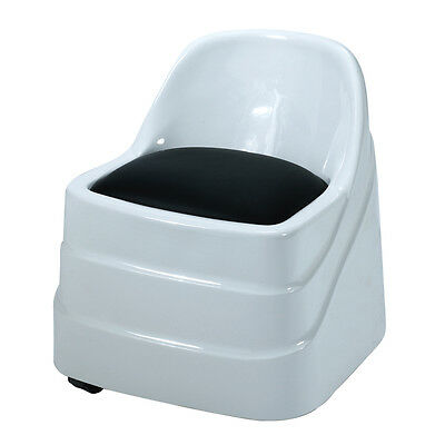 Spa Pedicure Chair Salon Beauty Chair Pedicures  Nails chari white and Black