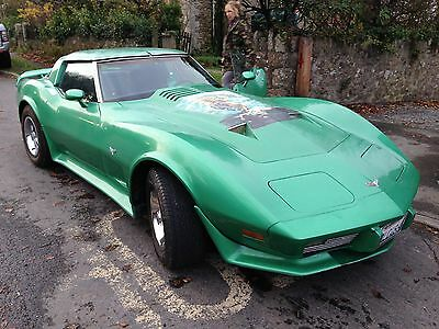 chevrolet corvette c3 stingray t top 350 cu in  new mot and uk regd ready to go