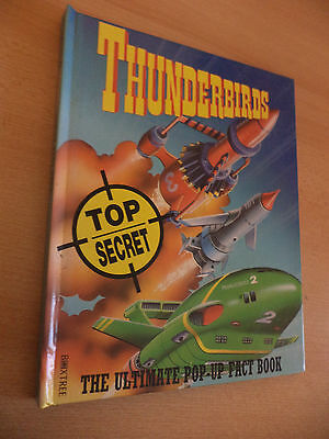 Thunderbirds Pop Up Fact Story Book Annual Old Vintage 1990S Childrens