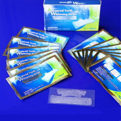 28 Professional Home Teeth Whitening Strips Bleaching Whiter Whitestrips By