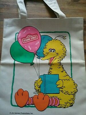 Sesame street bag vintage tote bag brand new canvas