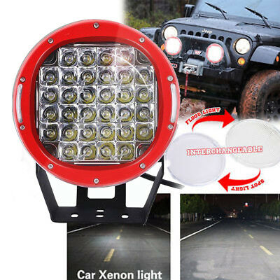 9 inch 185W CREE LED Round Driving Work Light Spot offroad ATV BMW Toyota Honda