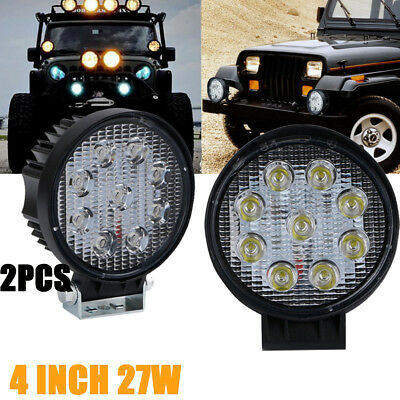 1X 225W 9 inch LED Headligh Driving Spot Light Offroad ARB Replace Jeep 4WD Ford