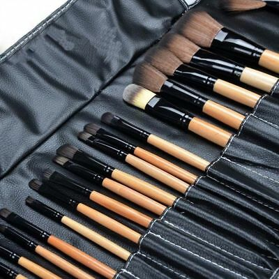 24 PCS Profesional Pinceles MAKE UP Conjunto Fundación Maquillaje Pinceles BY