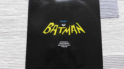 Batman Original TV Theme (Very Rare/Near Mint) Original UK 1989 12""
