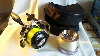 Shakespeare tidewater reel  2037-080 ,spare line and bag