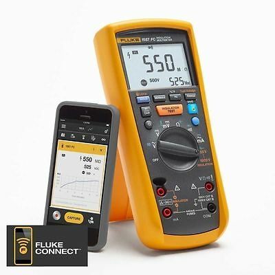 Fluke 1587 FC Insulation Multimeter with Fluke Connect BNIB