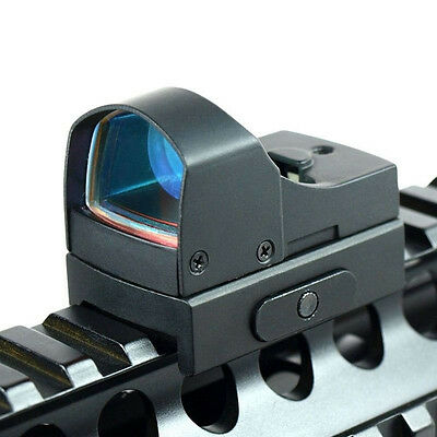 Tactical Mini Compact Holographic Reflex Micro Red Dot Sight Scope For Rifle